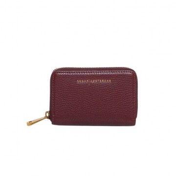 SMAAK AMSTERDAM - Damen Portemonnaie - JERRY - Burgundy