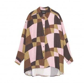 OTTOD´AME - Damen Bluse - Camicia Shirt - Rosa