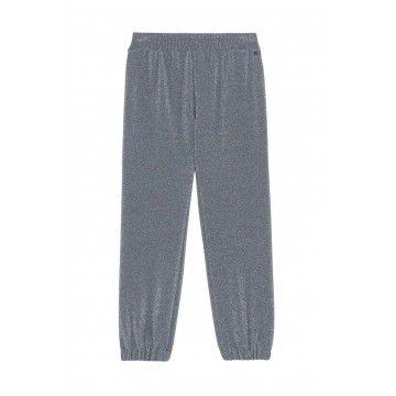 OTTOD´AME - Damen Hose - Pantalone Pants - Piombo