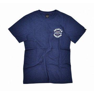 DEUS EX MACHINA - T-Shirt - Apple Tee - Navy Marle