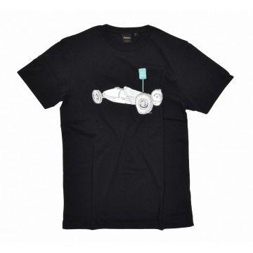 DEUS EX MACHINA - Herren T-Shirt - Belly Tank Tee Black