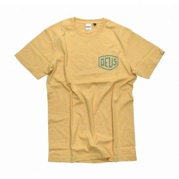DEUS EX MACHINA - Herren T-Shirt - Marle Canguu - Mineral Yellow