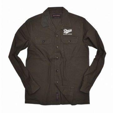 DEUS EX MACHINA - Herren Hemd - Gerber Ripstop Shirt - Forest Green