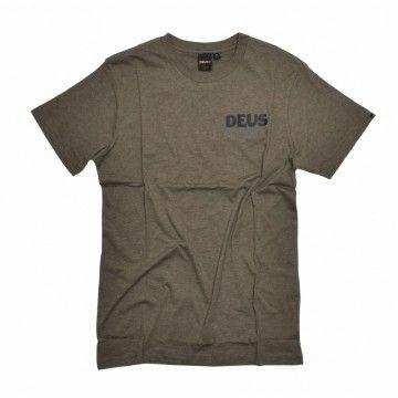 DEUS EX MACHINA - Herren T-Shirt - Jungle Tee - Leaf Marle
