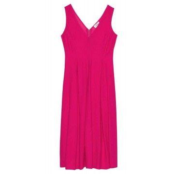 OTTOD´AME - Damen Kleid - Abito - Dress - Fuxia