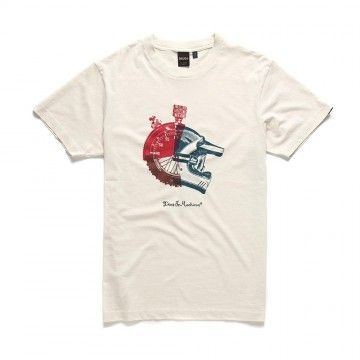 DEUS EX MACHINA - Herren T-Shirt - Swank Tee - Off-White