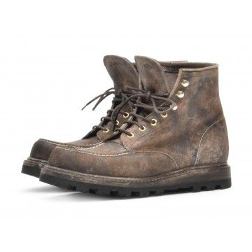 SHOTO - Herren Schuhe - Rambler Stone Washed Teton - Grey