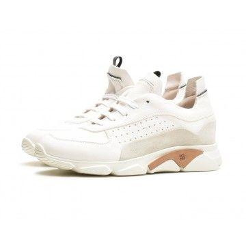 MOMA - Herren Sneaker - Allacciata Uomo Cusna + Tony Bianco Paradigma - Bianco
