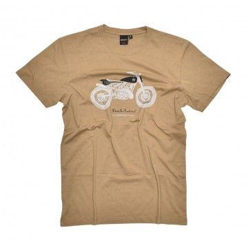 DEUS EX MACHINA - Herren T-Shirt - Pedrosa Tracker Tee - Tobacco