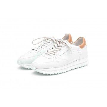 KENNEL&SCHMENGER - Damen Sneaker - Champ- Bianco/Caramel