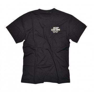 DEUS EX MACHINA - Herren T-Shirt - LT Octane Tee - Black