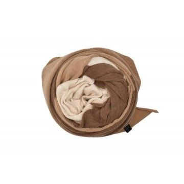 NEBO Schal Kobe - Shell-Latte-Camel