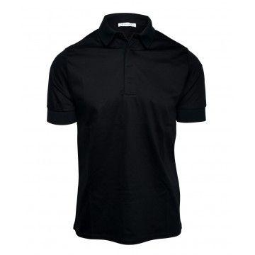 KIEFERMANN - Herren Polo-Shirt - Wilson - Black