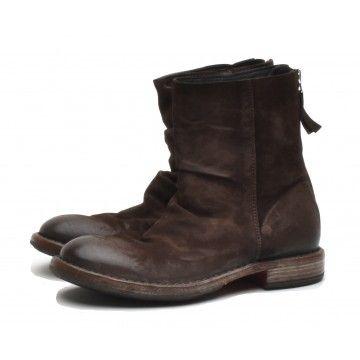 MOMA - Damen Schuhe - Stiefelette Tronchetto Donna Oliver - Dunkelbraun