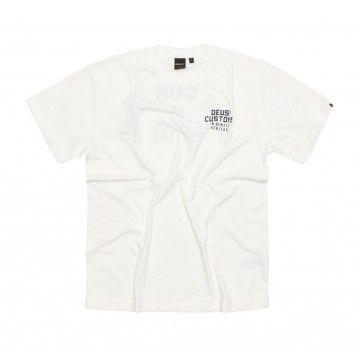 DEUS EX MACHINA - Herren T-Shirt - LT Octane Tee - Vintage White