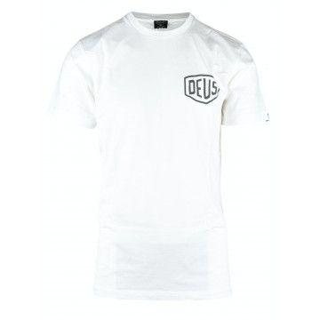 DEUS EX MACHINA - Herren T-Shirt - Ibiza Adress Tee - White