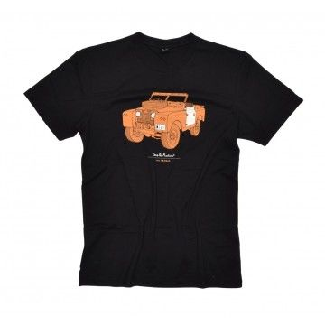 DEUS EX MACHINA - Herren T-Shirt - Landie Tee - Black