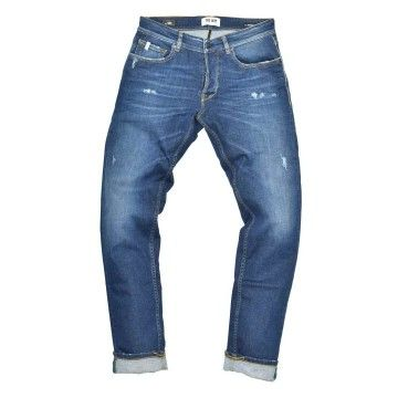 THE.NIM - Herren Jeans - Morrison Man Jeans Slim Tapered Fit - Organic Cotton - Special Dark