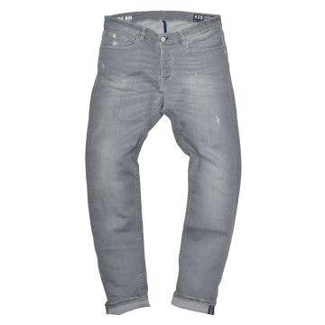 THE NIM - Herren Jeans - Morrison Slim Tapered Fit - Light Grey