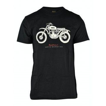 DEUS EX MACHINA - Herren T-Shirt - Parilla Wildcat - Black