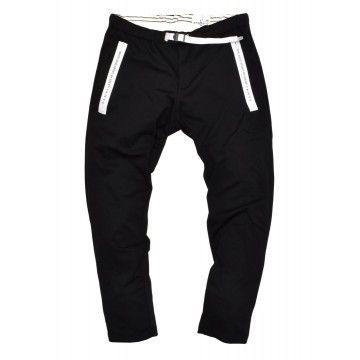 WHITE SAND - Herren Hose - Sport Long Trousers Greg - Black