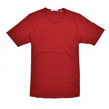 STEFAN BRANDT - Herren T-Shirt - Round Neck Elia 50er Pima Cotton - Tango