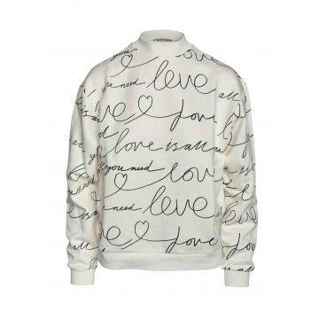 iHEART - Damen Sweater - Valencia-Butter