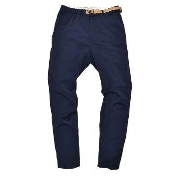 WHITE SAND - Herren Hose - Chino Long Trousers - Navy