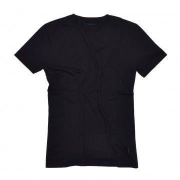 KIEFERMANN - Herren T-Shirt - Lio - Black