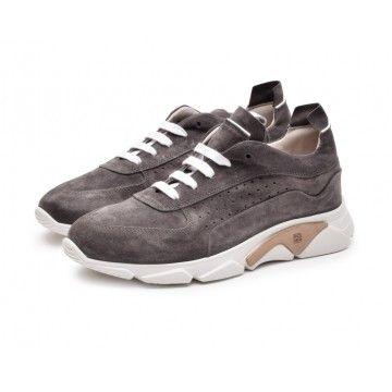 MOMA - Herren Sneaker - Allacciata Tony - Topo
