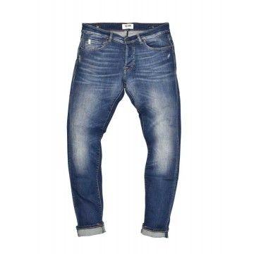 THE.NIM - Herren Jeans - Dylan Man Jeans Slim Fit - Organic Cotton - Eco Medium