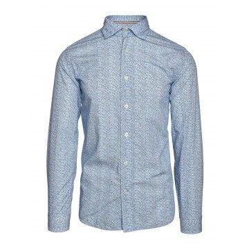 FIL NOIR - Herren Hemd - Milano - Blue