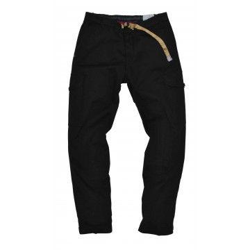 WHITE SAND - Herren Hose - Long Trousers Bruce - Nero