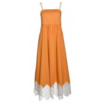 BEATRICE B - Damen Kleid - Abito Orange