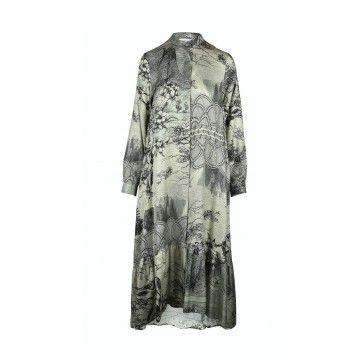 BEATRICE.B - Damen Kleid - 6622 Tessuto Velez B. - Vintage Eukalyptus