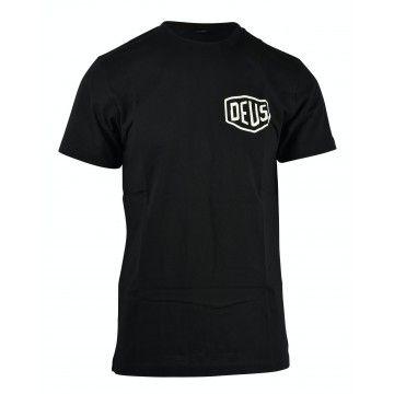 DEUS EX MACHINA - Herren T-Shirt - Berlin Adress Tee - Black