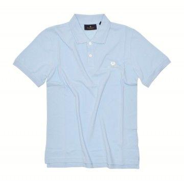 BELSTAFF - Herren Polo-Shirt - S/S Polo - Sky Blue