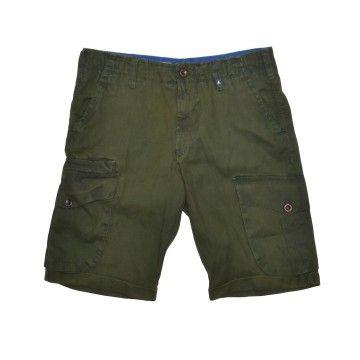 MYTHS - Herren Shorts - Bermuda Pants - Forest