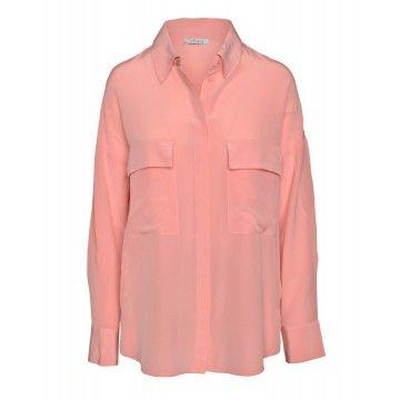 iHEART - Damen Bluse - Seiden Bluse - Marilyn - Dusty Pink