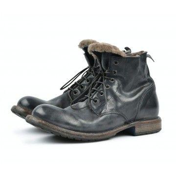 MOMA - Herren Schuhe - Tronchetto Uomo Cusna - Blu Navy