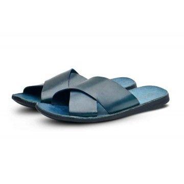 BRADOR - Herren Sandale - Upper T/Capo - Electric Blu