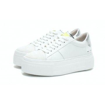 KENNEL & SCHMENGER - Damen Schuhe - Sneaker Sued calf - White