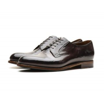 SILVANO SASSETTI - Herren Schuhe - Plain Toe 3 - Marrone - Dunkelbraun