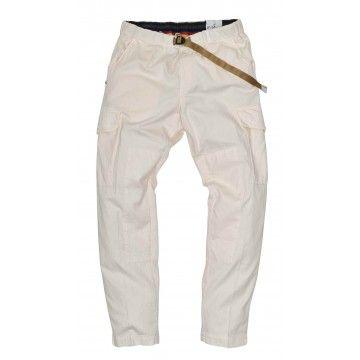 WHITE SAND - Herren Hose - Long Trousers Bruce - Bianco