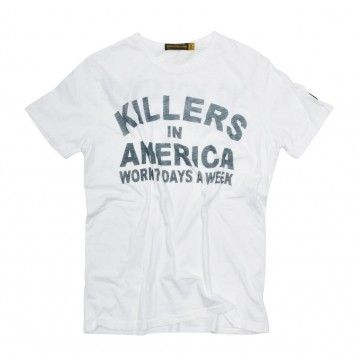 JOHNSON MOTORS - Herren T-Shirt - Killers - Optic White