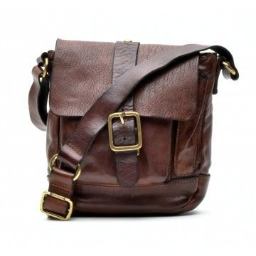 CAMPOMAGGI - Herren Tasche - Crossbody Small - Brown