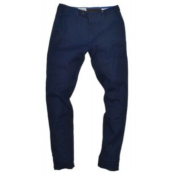 MYTHS - Herren Hose - Chino Pants - Dark Blue