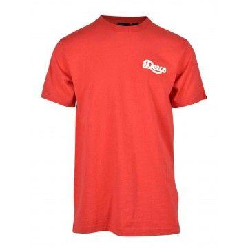 DEUS EX MACHINA - Herren T-Shirt - Speed Flop Tee - Rocco Red