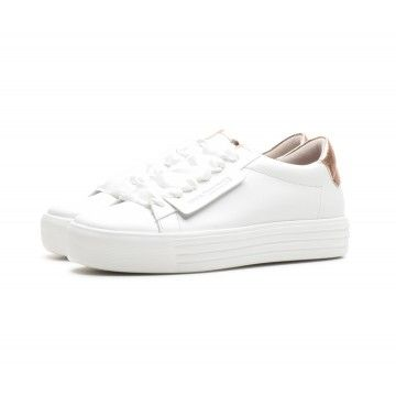 KENNEL & SCHMENGER - Damen Sneaker - Up - Bianco Rose
