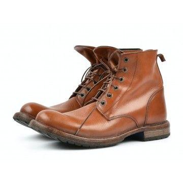 MOMA - Herren Schuhe - Tronchetto Uomo Toscano - Arancio